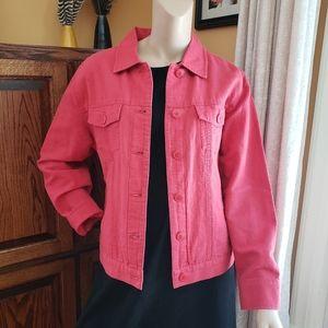 Pink Eddie Bauer denim jacket